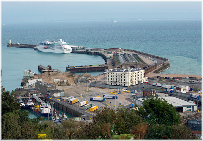 Port Of Dover: cruise terminal (Credit: constructionnews.co.uk)