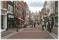Dublin - Grafton Street. Photo Stefano Fermi