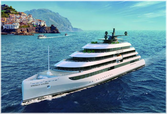 The Scenic Group has announced a new 100-guest super yacht, Emerald Azzurra (Emerald Yacht Cruises)