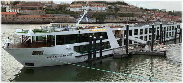 The 112 berth Emerald Radiance, delivered by WestSea this year for Scenic Cruises