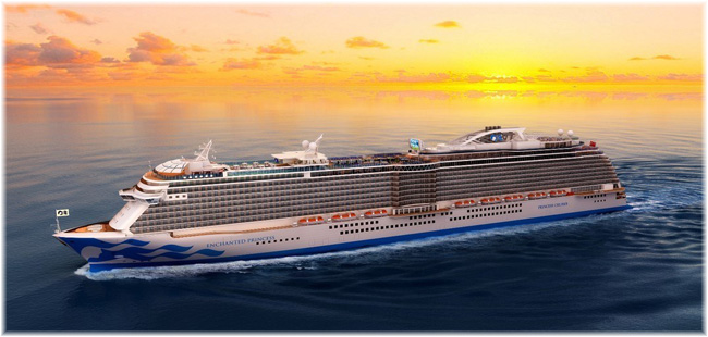 Enchanted Princess (Artist impression Princess Cruises)
