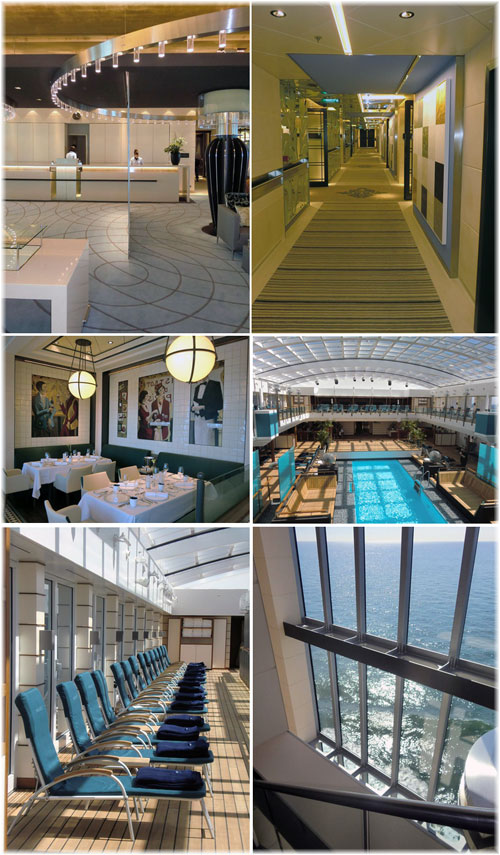 Hapag-Lloyd Cruises new Europa 2: a small photo essay showing some of her public areas (Courtesy Kevin Griffin)