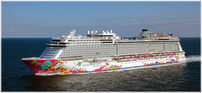 The Genting Dream  (Courtesy Meyer Werft)