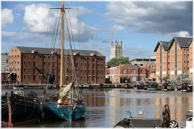 Gloucester Docks (Credit: Simon Pizzie)