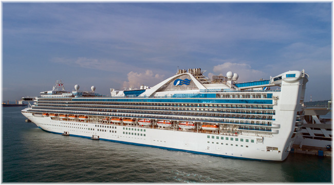Golden Princess / Pacific Adventure (Courtesy Princess Cruises)