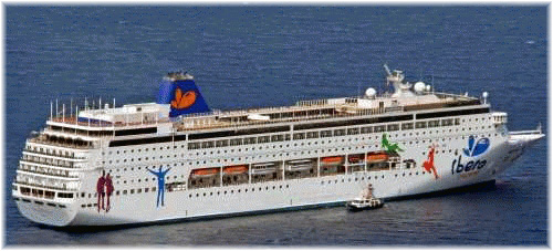 Iberocruceros' Grand Mistral to became Costa neoRiviera