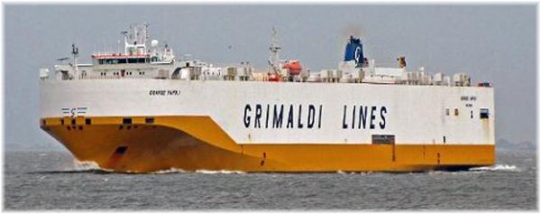Grimaldi Lines' Grande Napoli
