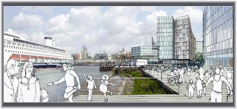 Greenwich Cruise Terminal (Artist impression)