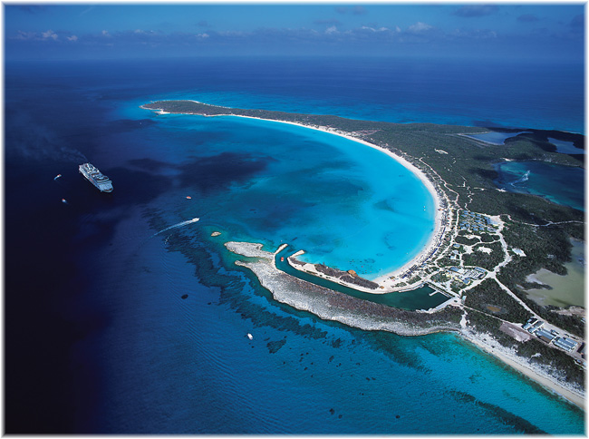 Holland America Line's Half Moon Cay (Courtesy HAL)
