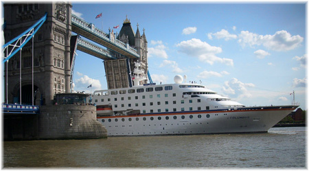New Cruise Terminal For London Olympics Other Cruise News - Cruise ship in london