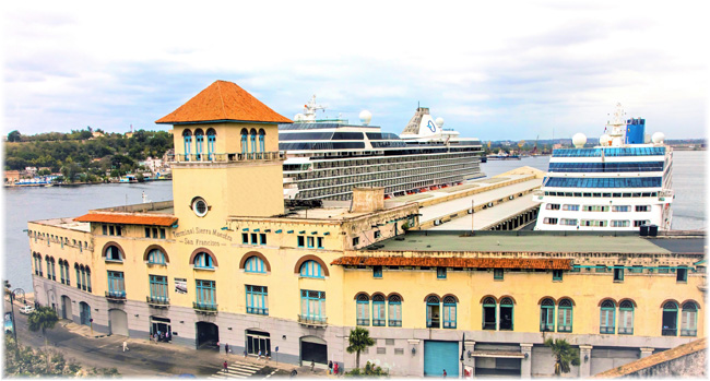 The cruise port in Havana, Cuba (GPH)