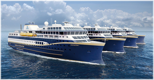 Havila will build four new ships for the route