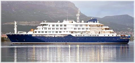 The new 196-passenger polar class expedition vessel  Hondius