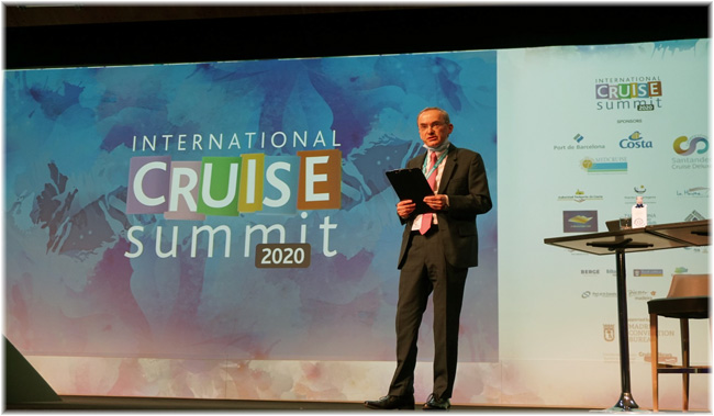 The tenth edition of the International Cruise Summit in Madrid has concluded with a message of hope for the cruise industry (December 2020)