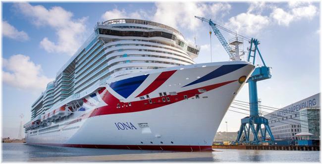 Iona -  P&O Cruises