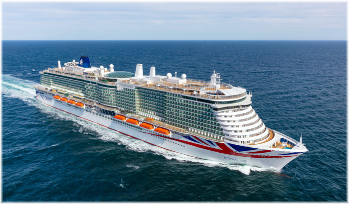 Iona - P&O Cruises (Courtesy Meyer Werft, October 2020)