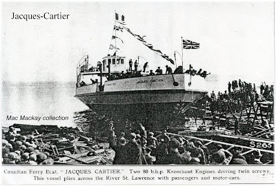 The Jacques Cartier was built as a car ferry in 1924