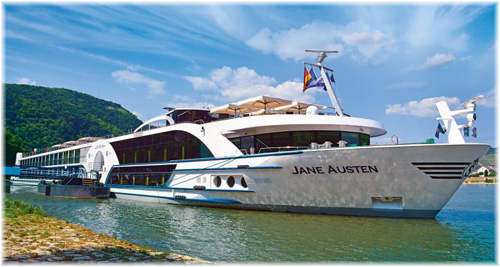 The Jane Austen (Image courtesy of Riviera Travel)