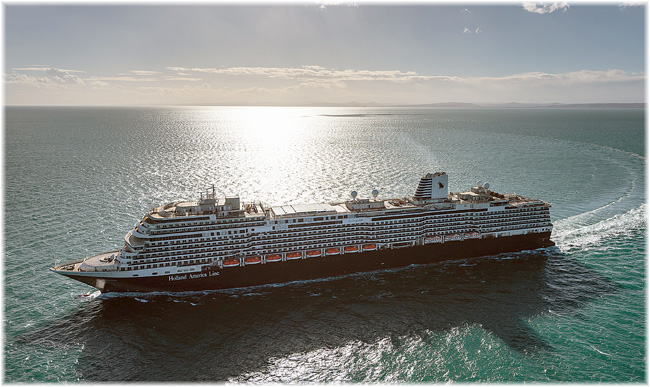 Holland America Line's Koningsdam (Courtesy Fincantieri) (Click to enlarge)