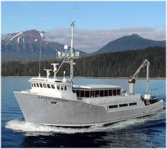 Alaskan Dream Cruises' Kruzof Explorer