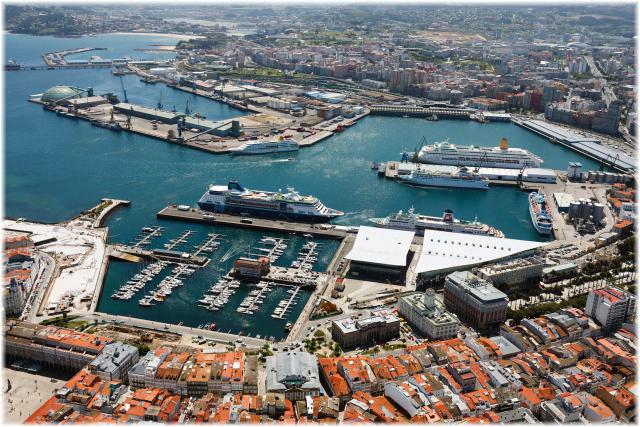 La Coruña - Galicia, Spain  (Courtesy Puerto de Coruña)