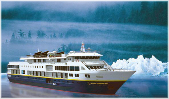The National Geographic Quest is currently being built in Seattle and will make her first voyage on 26 June 2017