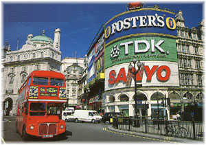 London. Piccadilly Circus