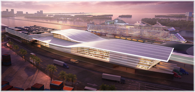 MSC Group's Cruise Division And Fincantieri Partner For Construction Of New State-of-the-art Cruise Terminal At Portmiami (July 2020)