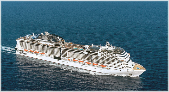 The MSC Grandiosa (Artist impression courtesy MSC Cruises)