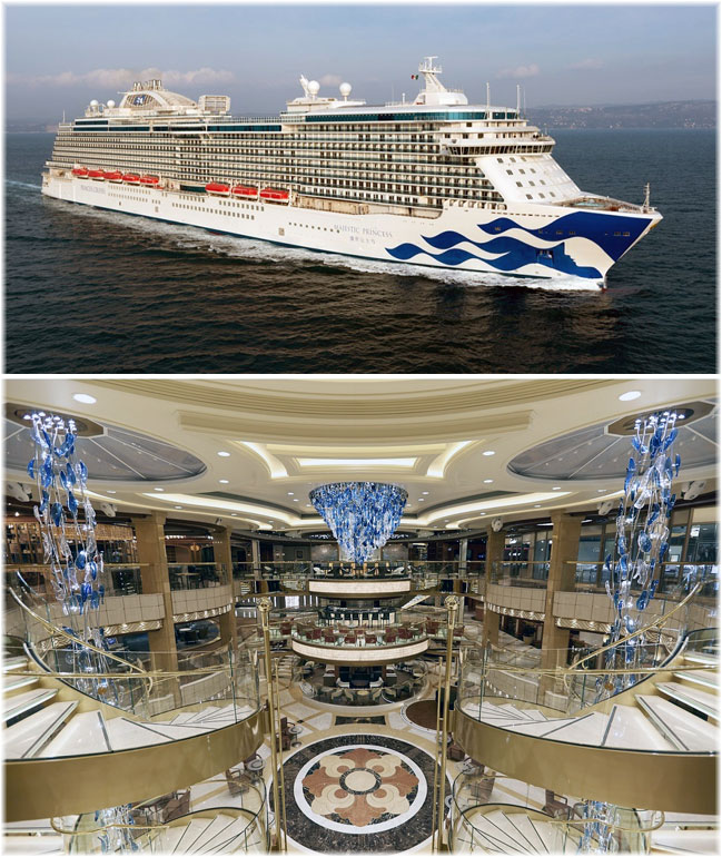 The Majestic Princess (Click to enlarge)