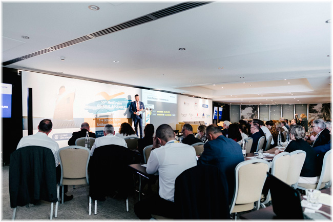 The 55th edition of the MedCruise General Assembly in Antibes  (Courtesy MedCruise)