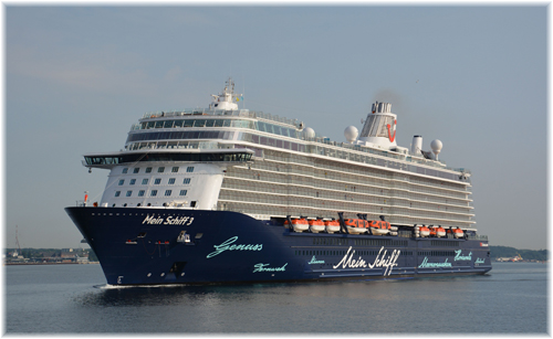 Mein Schiff 3 (Photo courtesy Port of Kiel)