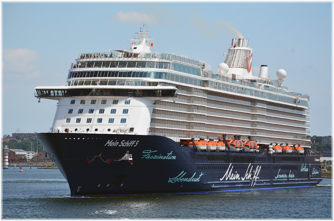 Mein Schiff 5  (Photo courtesy Port of Kiel)