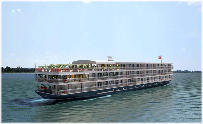 Mekong Jewel (Courtesy Rainforest Cruises)