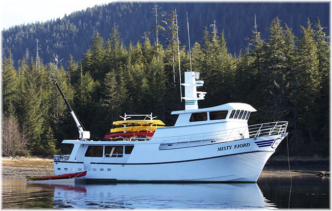Alaskan Dream Cruises' Misty Fjord