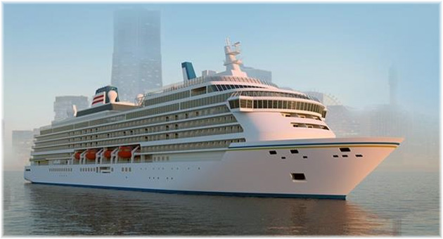 NYK Cruises and Meyer Werft have signed a contract for the construction of a new cruise ship (March 2021)