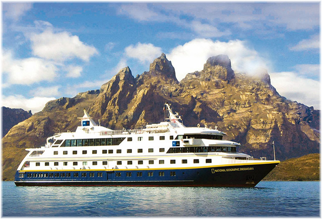 National Geographic Endeavour II  (Photo courtesy of Lindblad Expeditions)