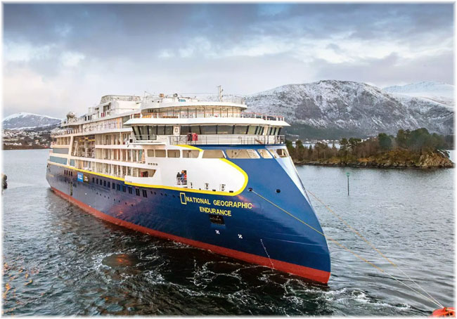 Lindblad Expeditions' National Geographic Endurance  (Courtesy of Lindblad Expeditions)