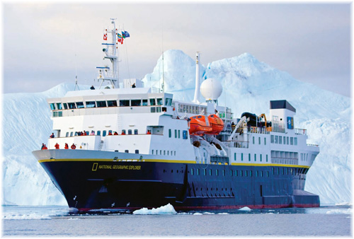 National Geographic Explorer  (Photo courtesy of Lindblad Expeditions)