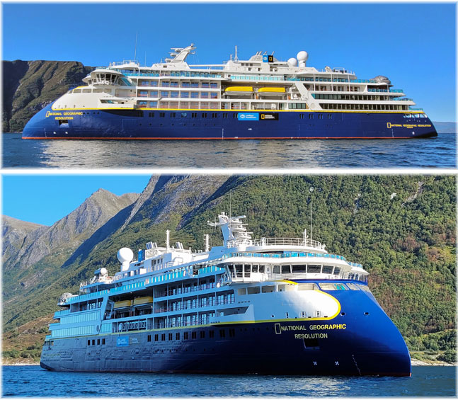 Lindblad Expeditions' National Geographic Resolution  (Courtesy of Lindblad Expeditions)