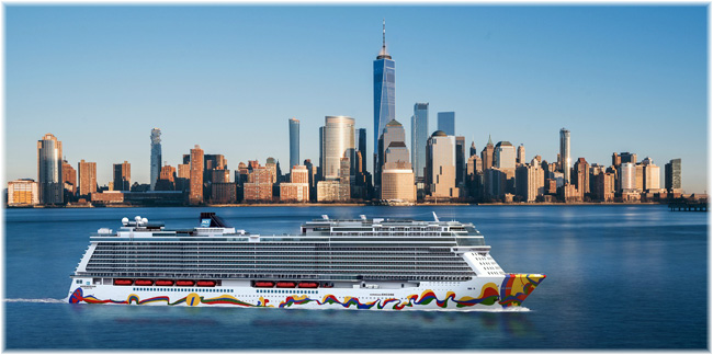 Artist impression of the Norwegian Encore (Courtesy NCL)