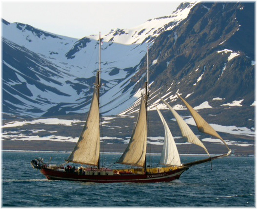 The two-master schooner Noorderlicht