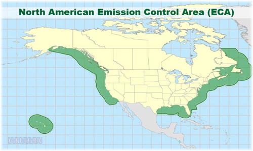 North American Emissions Control Area (ECA)