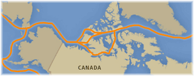 The Northwest Passage (Courtesy of Canadian Braodcasting Corporation)