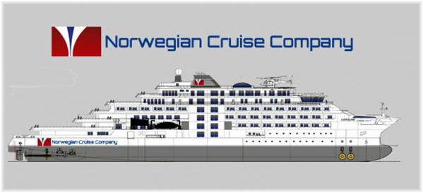 Norwegian Cruise Company of Oslo, formed in December 2016, is planning to introduce up to six 180-berth Polar Class 6 vessels into service