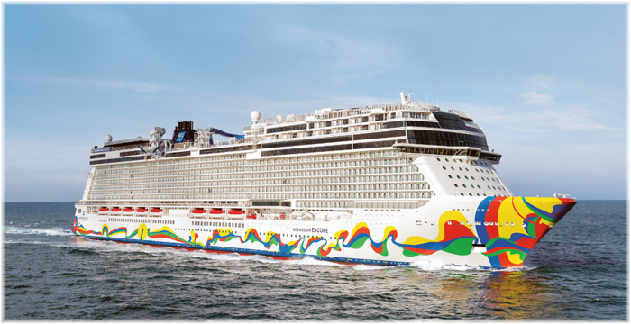 Norwegian Encore (Courtesy NCL)
