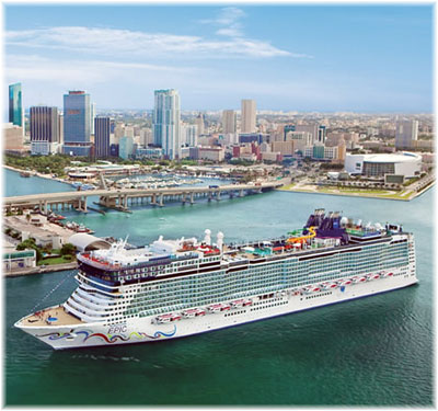 Norwegian Epic in Miami (Courtesy Norwegian Cruise Line)