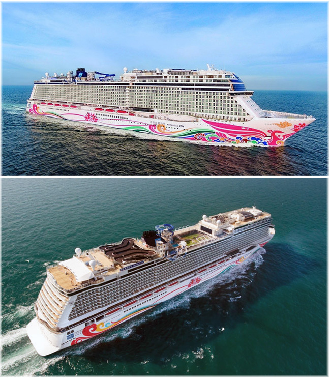 The Norwegian Joy (Courtesy Meyer Werft / Norwegian Cruise Line)