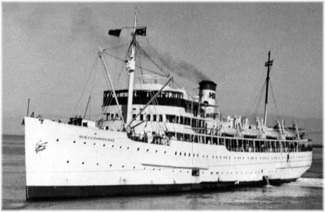 Nuevo Dominicano had accommodations for 170 passengers
