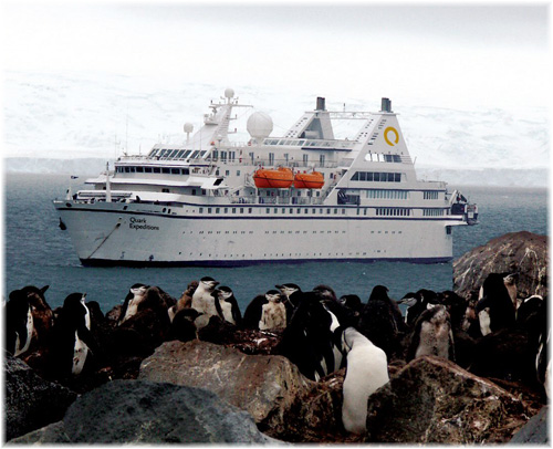 Quark Expeditions' Ocean Diamond ex Le Diamant, ex Radisson Seven Seas Cruises' Song of Flower